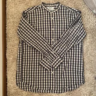 GYMPHLEX - ジムフレックス ギンガムチェックシャツ