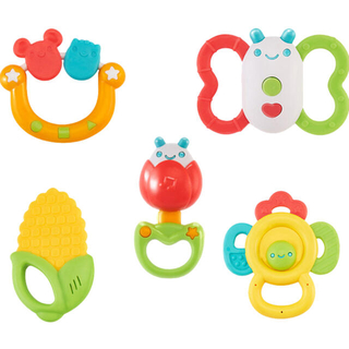 新品 ベビー 赤ちゃんおもちゃ かみかみ 歯固め がらがら おしゃぶり 知育玩具