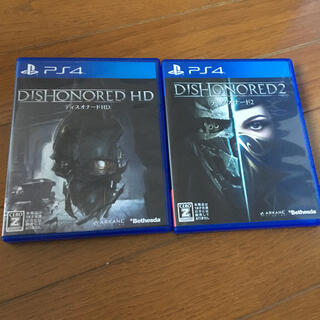 PlayStation4 - Dishonored HD、Dishofnered2セット