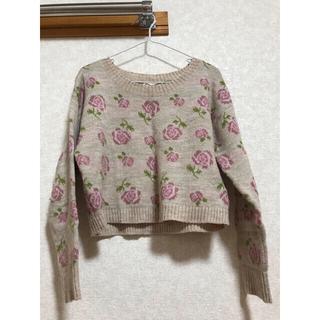 ダブルクローゼット(w closet)のw closet♡セーター(ニット/セーター)