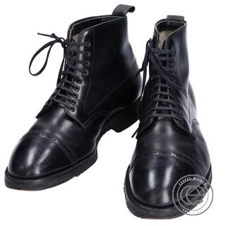 オールデン(Alden)のAlden オールデン 41927H レザーブローグキャップトゥブーツ(ブーツ)