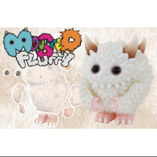 """Monster Fluffy """"Life with Fuzzy"""" ソフビライト(キャラクターグッズ)"""