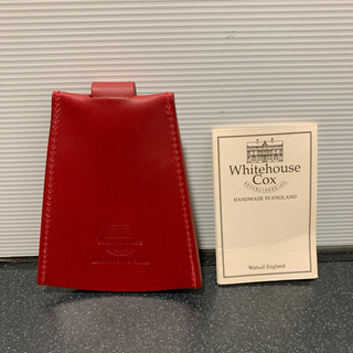 ホワイトハウスコックス(WHITEHOUSE COX)のホワイトハウスコックス キーホルダー クロシェット(キーケース)