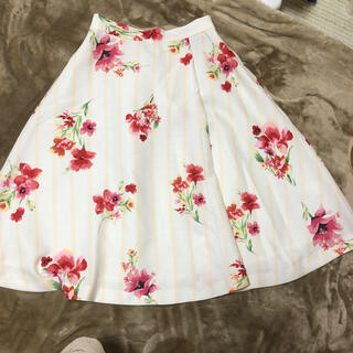 プロポーションボディドレッシング(PROPORTION BODY DRESSING)のプロポーション スカート花柄(ひざ丈スカート)