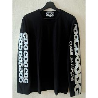 COMME des GARCONS - CDG LONG SLEEVES T-SHIRT ブラック XLサイズ 美品