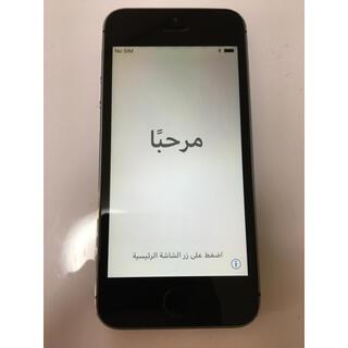 アップル(Apple)の中古 iPhone5s 16GB 本体のみ スペースグレー(スマートフォン本体)
