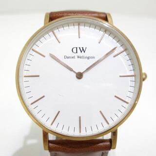 ダニエルウェリントン(Daniel Wellington)のダニエルウェリントン 腕時計 B36RI 白(腕時計)