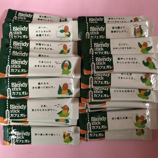 エイージーエフ(AGF)の50本 ブレンディ カフェオレ(コーヒー)