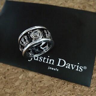 ジャスティンデイビス(Justin Davis)のJustin Davis  リング#13  BLACK END(リング(指輪))