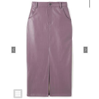 GRL - レザー タイトスカート