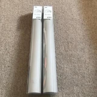 ニトリ(ニトリ)の2本セット ニトリ 貼ってはがせるシール壁紙 プレーンMO (その他)