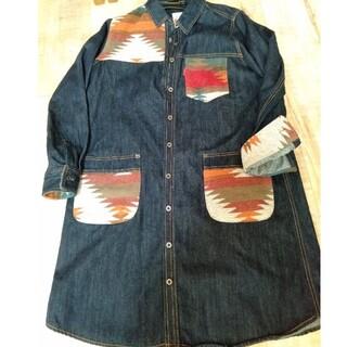 チチカカ(titicaca)のジャンパースカート(ひざ丈ワンピース)