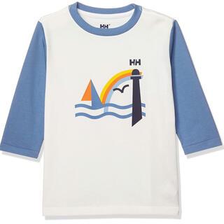 ヘリーハンセン(HELLY HANSEN)のセール!新品タグ付!人気完売!ヘリーハンセン 高機能 北欧デザイン ロゴロンT (Tシャツ/カットソー)