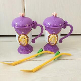 ディズニー(Disney)のラプンツェルのコップとパスカルのスプーン♡2個セット(食器)