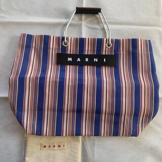 Marni - marni マルニ ストライプバッグ ブルー