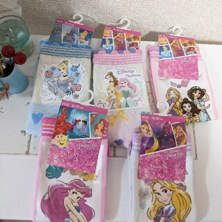 Disney - ディズニー プリンセス 靴下