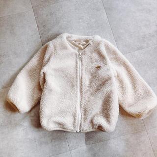 petit main - 【プティマイン100】モコモコジャケット