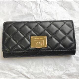 マイケルコース(Michael Kors)の【新品・未使用】マイケルコース  キルティング長財布 (財布)