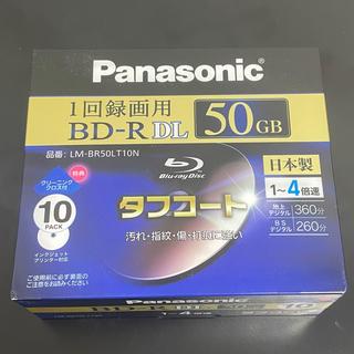 パナソニック(Panasonic)の新品未開封 パナソニック ブルーレイ BD-R DL 50GB 10枚セット(DVDレコーダー)