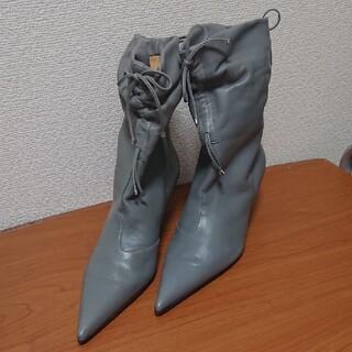 ドルチェアンドガッバーナ(DOLCE&GABBANA)のドルチェアンドガッバーナ ショートブーツ 24.5cm(ハイヒール/パンプス)