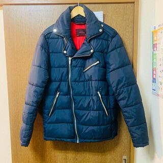 ZARA - 特別セール!ZARA ザラダウンジャケット ネイビー Mサイズ 極美品