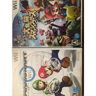 ニンテンドウ(任天堂)の【Wii】マリオカートwii大乱闘スマッシュブラザーズX Wii(家庭用ゲームソフト)