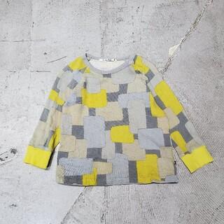 mina perhonen - ミナペルホネン financier カットソー キッズ 長袖Tシャツ