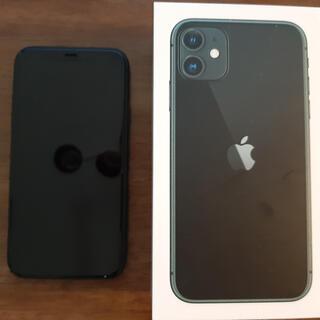 iPhone - iPhone 11 ブラック 128 GB SIMフリー 美品