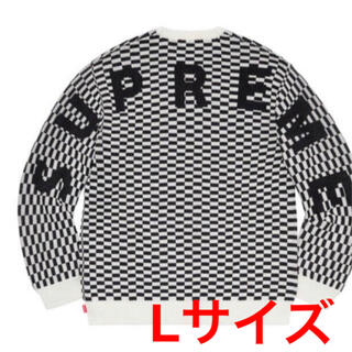Supreme - Supreme back logo sweater Lサイズ 新品未着用