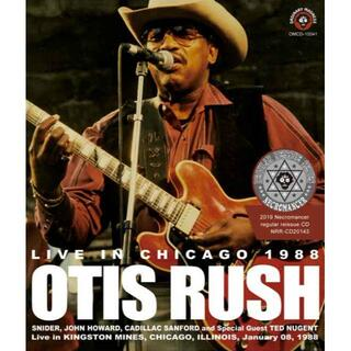 OTIS RUSH / LIVE IN CHICAGO 1988(ブルース)