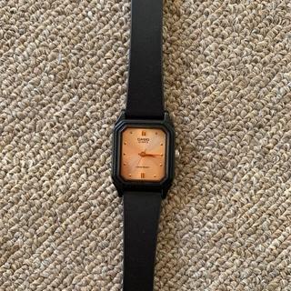 CASIO チープカシオ 腕時計 チプカシ スクエア ゴールド文字盤 カシオ