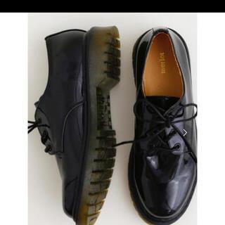 メルロー(merlot)のmerlot ラバーソール レースアップシューズ(ローファー/革靴)