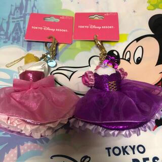 ディズニー(Disney)のディズニー キーチェーン 2個(キャラクターグッズ)