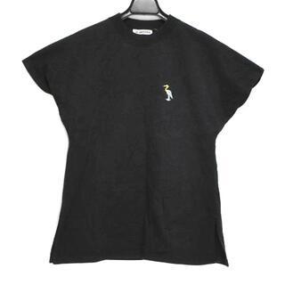 ジルサンダー(Jil Sander)のジルサンダー 半袖Tシャツ サイズS - 黒(Tシャツ(半袖/袖なし))