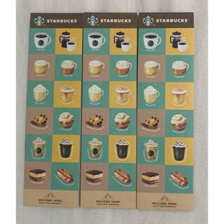 スターバックスコーヒー(Starbucks Coffee)の【 匿名配送 】スタバ  ステッカー    3枚セット!(ノベルティグッズ)