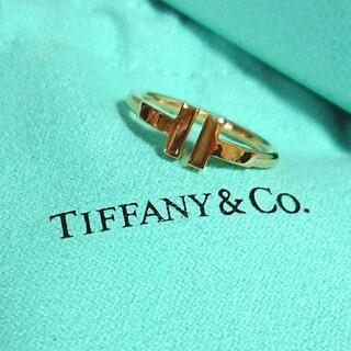 Tiffany & Co. - TIFFANY☆ティファニーTワイヤーリング
