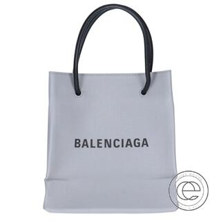 Balenciaga - BALENCIAGA バレンシアガ 555140 ロゴ入り レザー ショッピ