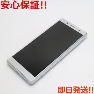 ソニー(SONY)の美品 SIMロック解除済 SO-05K ホワイト 本体 白ロム (スマートフォン本体)