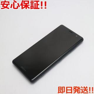 ソニー(SONY)の新品同様 SIMロック解除済 SO-05K ブラック 本体 白ロム (スマートフォン本体)