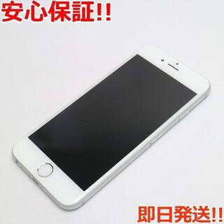 アイフォーン(iPhone)の新品同様 au iPhone6S 32GB シルバー 白ロム(スマートフォン本体)