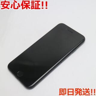 アイフォーン(iPhone)の美品 au iPhone7 32GB ブラック (スマートフォン本体)