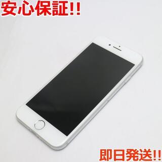 アイフォーン(iPhone)の美品 SIMフリー iPhone8 256GB シルバー (スマートフォン本体)