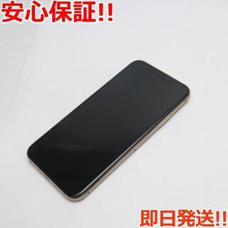 アイフォーン(iPhone)の新品同様 SIMフリー iPhoneXS 64GB ゴールド 白ロム (スマートフォン本体)