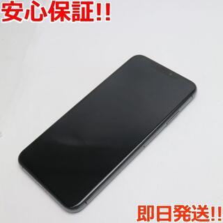 アイフォーン(iPhone)の美品 DoCoMo iPhoneXS MAX 256GB スペースグレイ (スマートフォン本体)