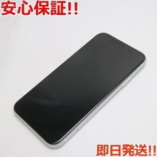 アイフォーン(iPhone)の美品 SIMフリー iPhoneXR 128GB ホワイト 白ロム (スマートフォン本体)
