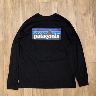 patagonia - 新品 パタゴニア Patagonia Tシャツ 長袖 ロンT ブラック 黒