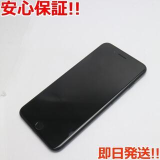アイフォーン(iPhone)の美品 SOFTBANK iPhone7 PLUS 128GB ジェットブラック (スマートフォン本体)