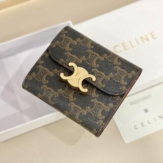 celine - 即納品 ★折り財布 「セリーヌ♤CELINE 」早い者勝ち 箱付き ★