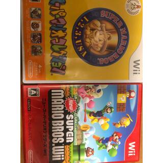 ニンテンドウ(任天堂)のwii   スーパーマリオコレクション&ニュースーパーマリオブラザーズwii(家庭用ゲームソフト)