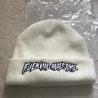Supreme - 未使用 Fucking Awesome ビーニー ニット帽 ファッキンオーサム